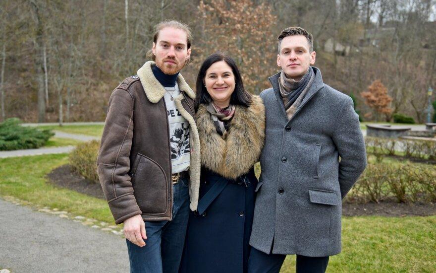 Gabrielius, Dalia ir Osvaldas Vageliai/Foto: tomasfoto.lt