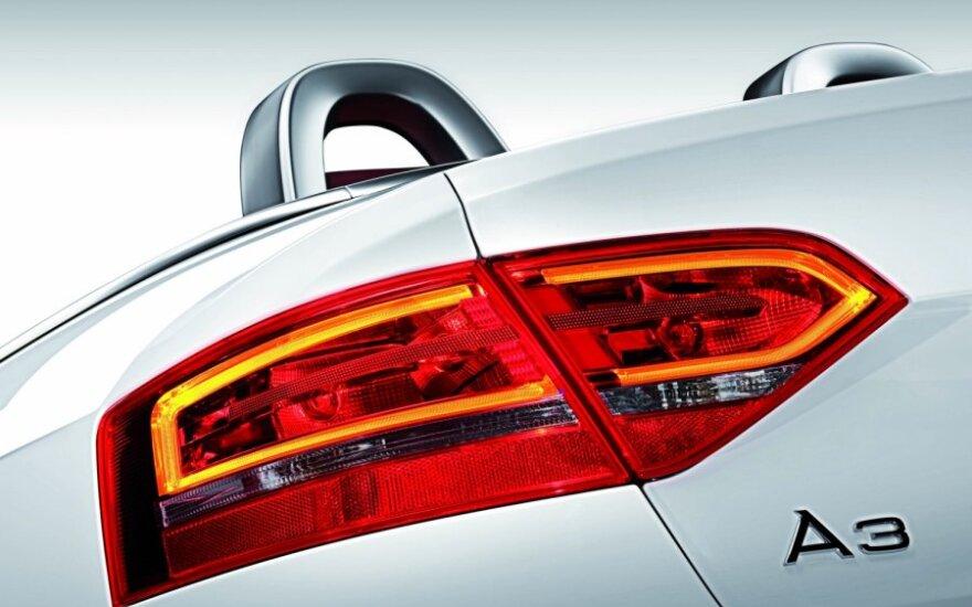 Audi A3 kabrioletas