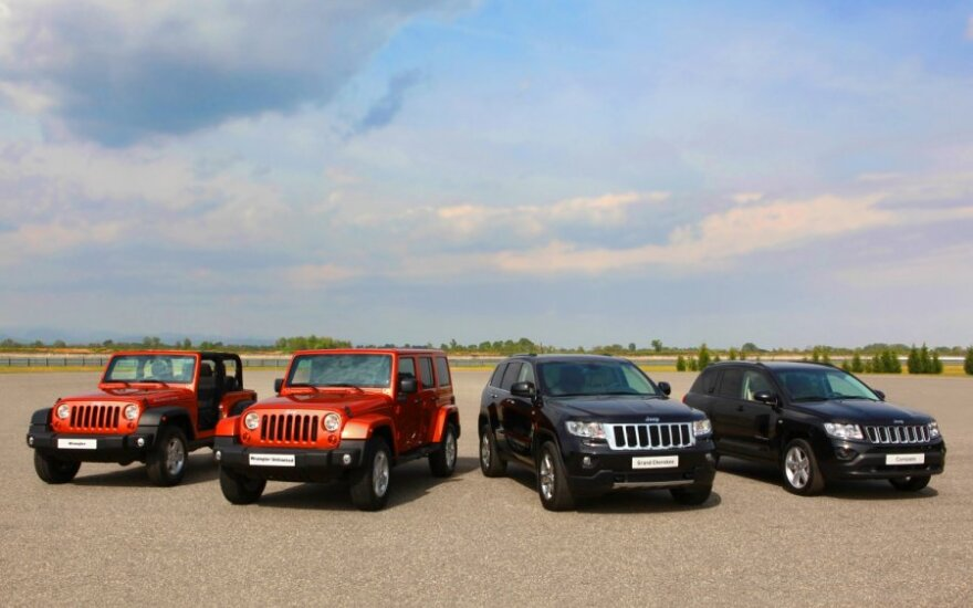"""Jeep"" švenčia 70 m. jubiliejų"