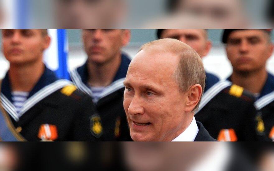 Toks populiarus V. Putinas nebuvo jau seniai