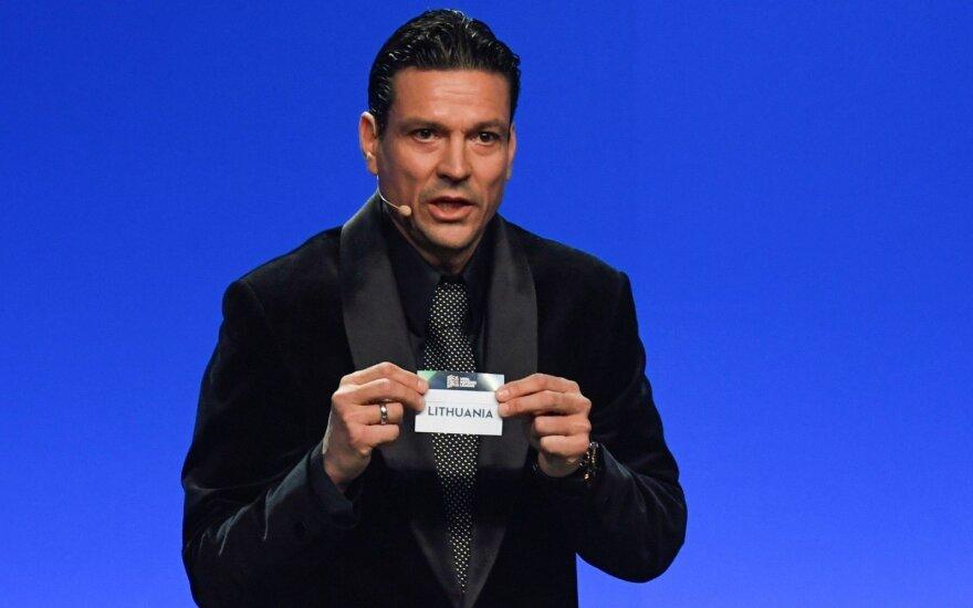 Lietuva UEFA Tautų lygoje žais su rumunais, serbais ir juodkalniečiais