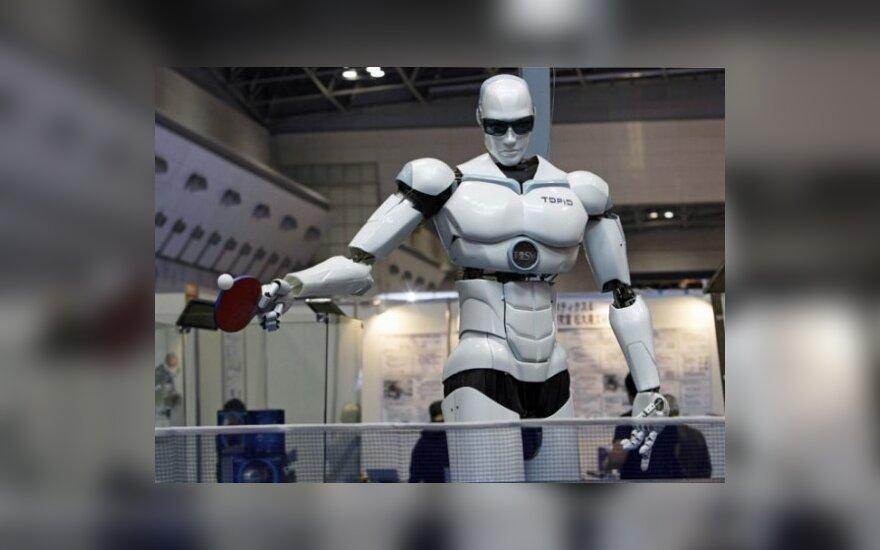 Draugas laisvalaikiui - Topio robotas