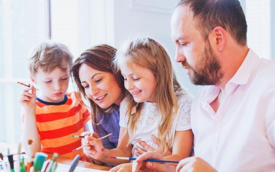 Siūloma ir skaitmeninė Šeimos kortelė