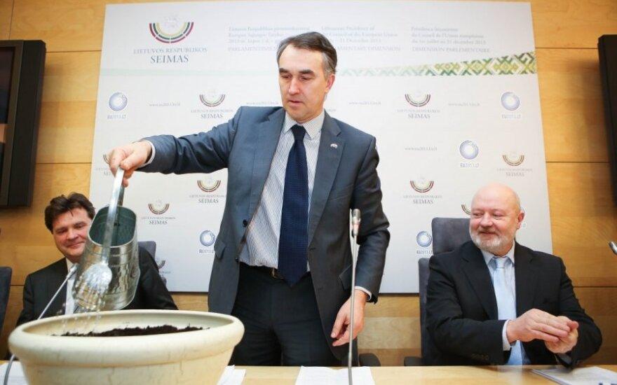 Kęstutis Mozeris, Petras Auštrevičius, Eugenijus Gentvilas