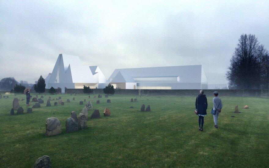 Lahdelma & Mahlamäki Architects Lost Shtetl museum render
