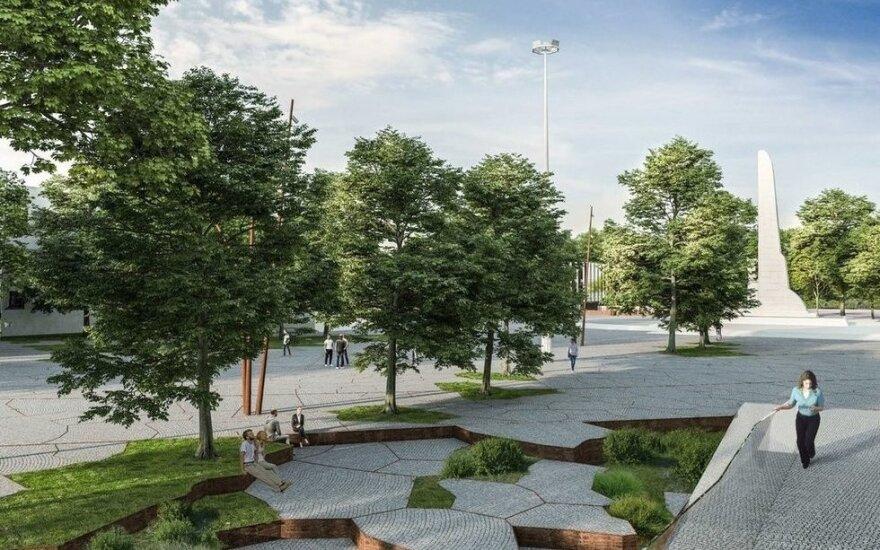 Rekonstruojant S. Dariaus ir S. Girėno stadioną bus tvarkoma ir greta jo esanti Sporto gatvė