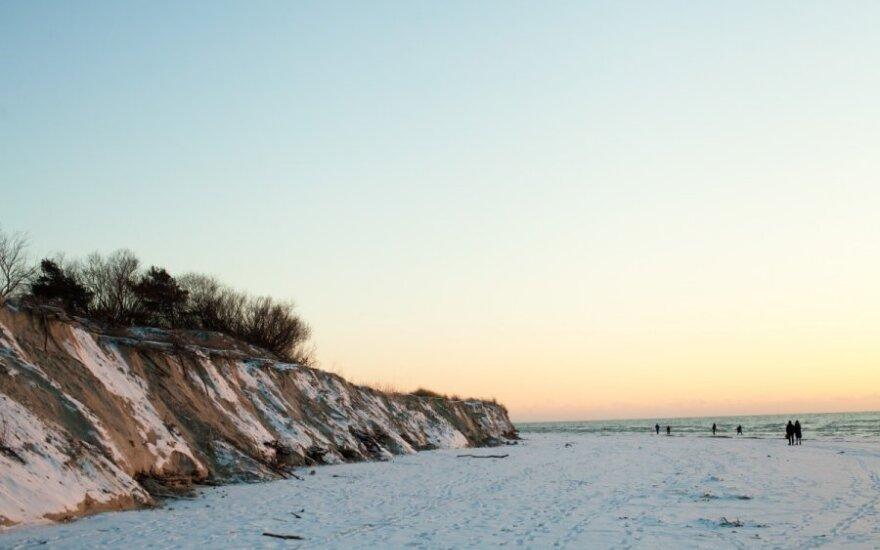 Audros nuniokoti paplūdimiai