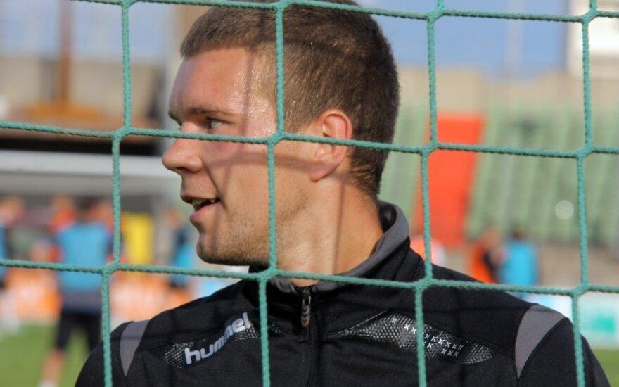 E. Zubas praleido įvartį ir kartu su komanda nukrito į paskutinę vietą