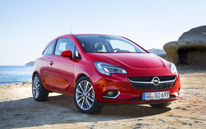 """""""Opel"""" privertė mažąjį """"Corsa"""" laikytis dietos: numetė daugiau nei 100 kg"""