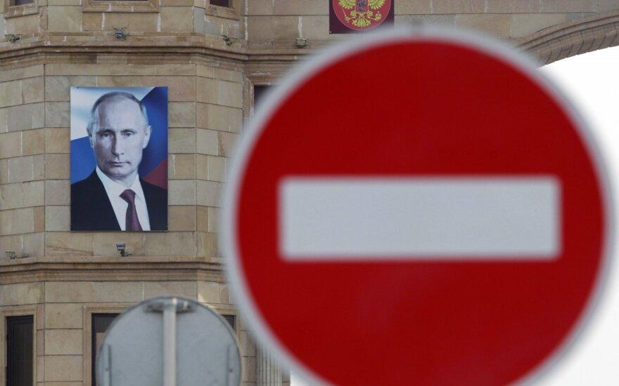 JAV paskelbė 30 Rusijos įmonių ir tarnybų sąrašą: su jais ragina nutraukti ryšius
