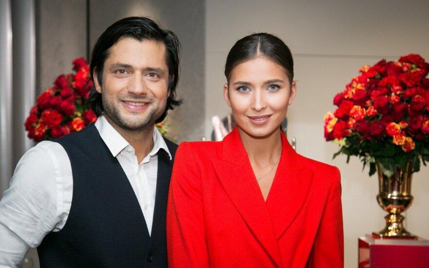 Ali Gadžijevas su žmona Patricija