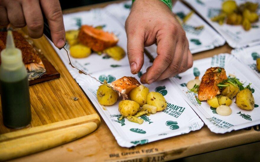 Kvapais ir skoniais užbūrė gurmaniško maisto festivalis