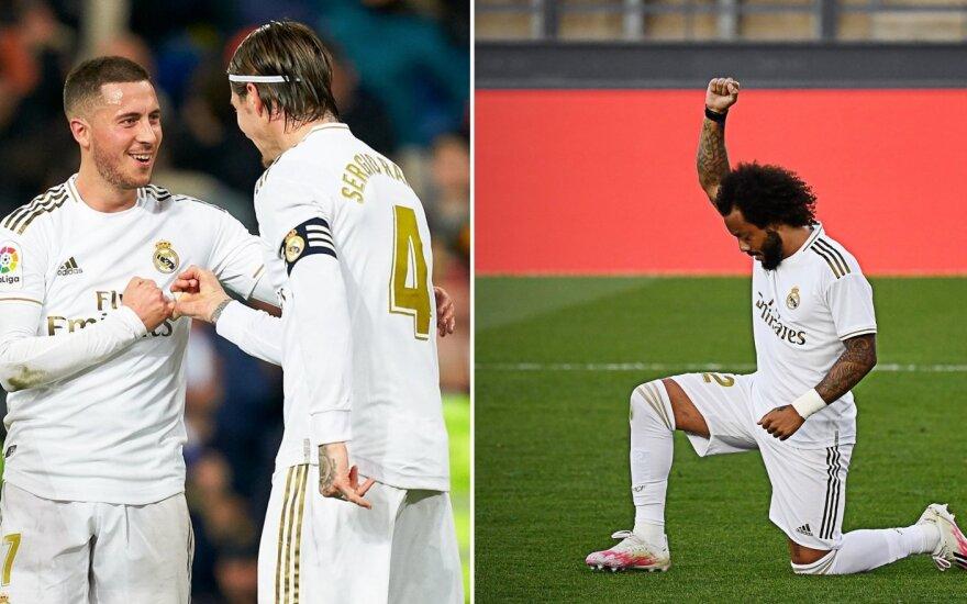 """""""Real"""" pergalės fone – Hazardo sugrįžimas ir į dangų iškeltas Marcelo kumštis"""