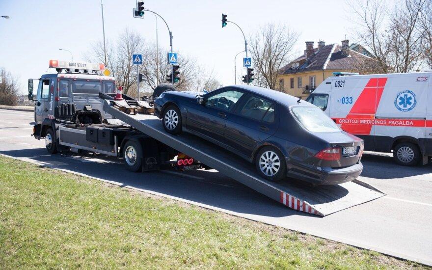 Vidury dienos įkliuvo du itin girti vairuotojai: lietuvis gydytojas nurungė užsienietį