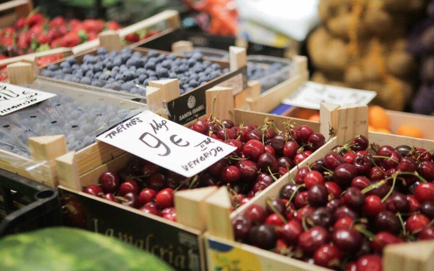 Maisto ir veterinarijos tarnyba uždraudė rinkai tiekti beveik 600 kg vaisių ir daržovių