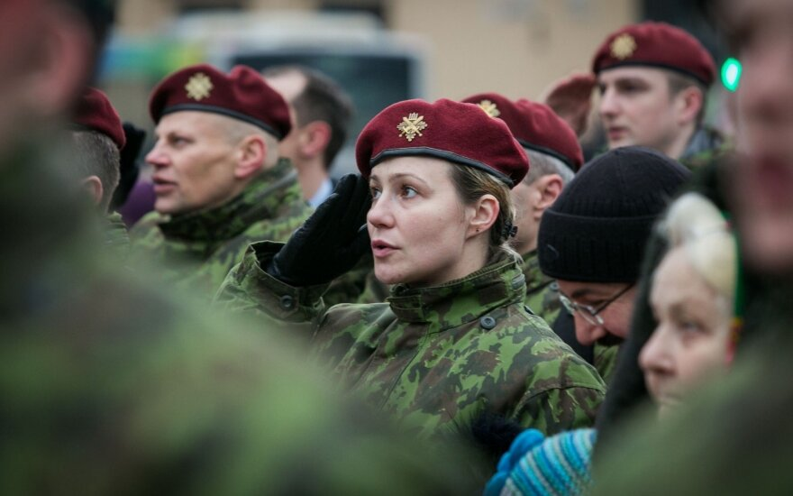 Lithuania's army to start replacing uniforms this year
