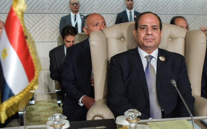 Egipto prezidentas Abdel Fattahas al Sisi