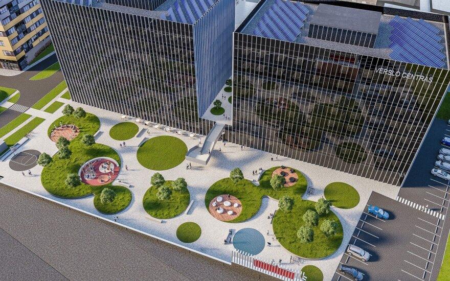 """Ukmergės gatvėje verslo centrą projektuoja """"Architektūros kūrybinė grupė"""""""