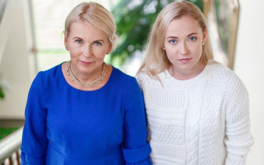 Eglė su dukra