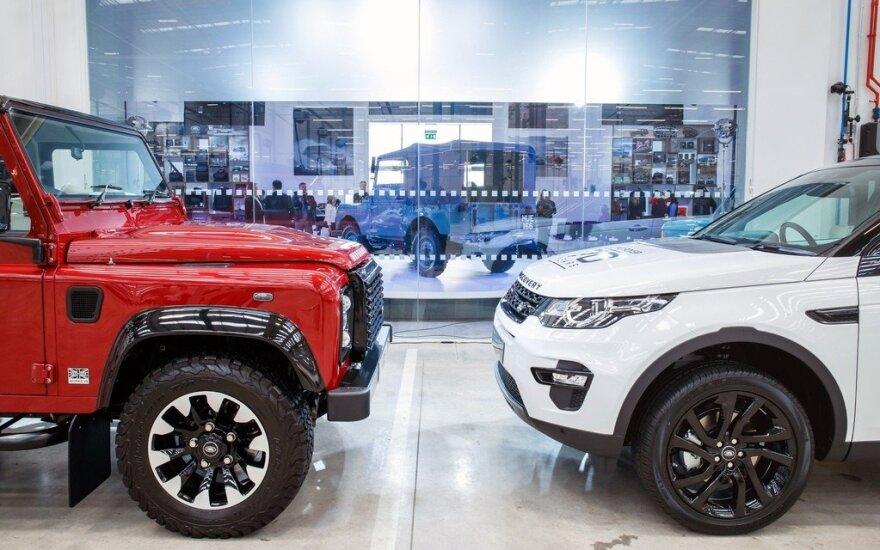 """""""Land Rover"""" švenčia 70 metų jubiliejų"""