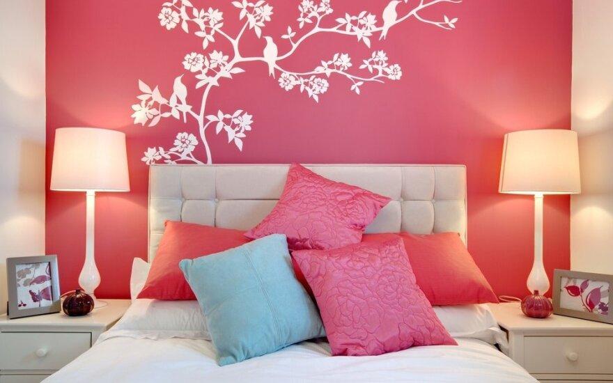 200 originalių miegamojo idėjų