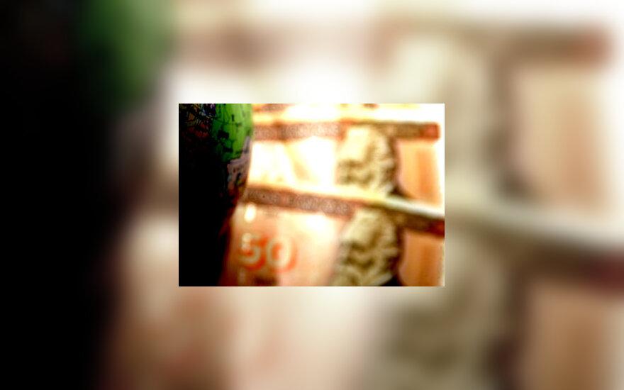 Litai, pinigai, finansai, banknotai, 50 Lt