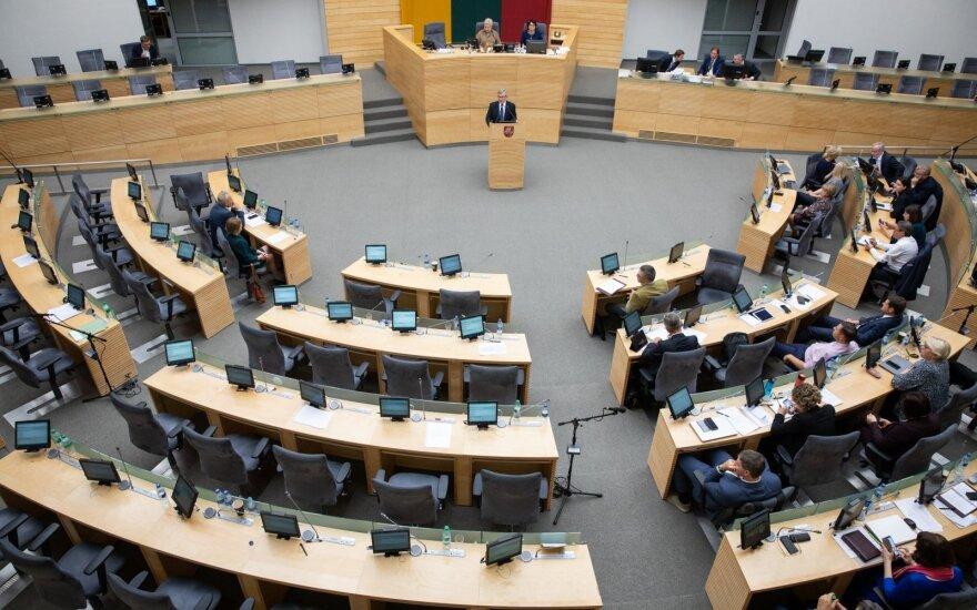 Parlamentarai svarstys, kokio palaikymo turėtų sulaukti norinčios patekti į Seimą partijos ir koalicijos