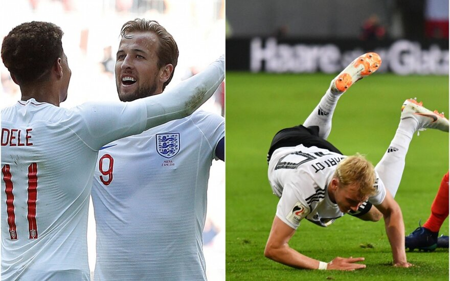 Harry Kane ir Julianas Brandtas