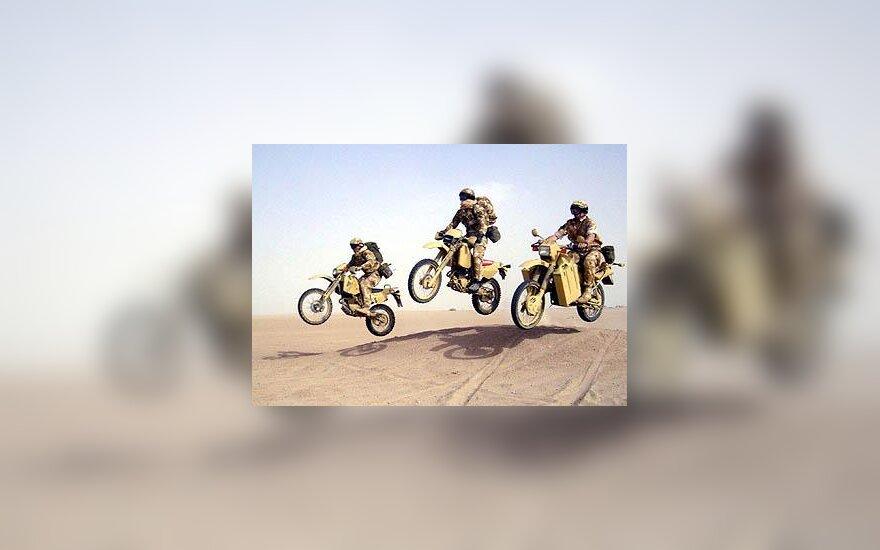 JAV kariuomenė, motociklai