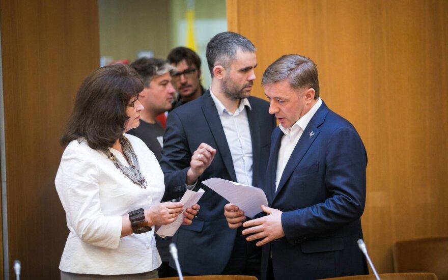 Rima Baškienė, Ramūnas Karbauskis