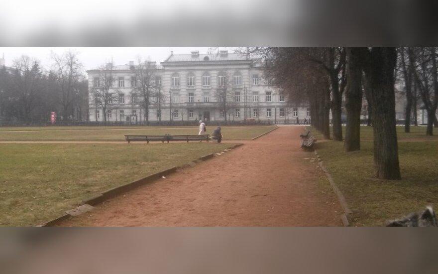 Vilnietę Lukiškių aikštėje pamatytas vaizdas privertė raudonuoti