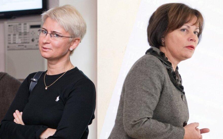 Neringa Venckienė ir Rasa Juknevičienė