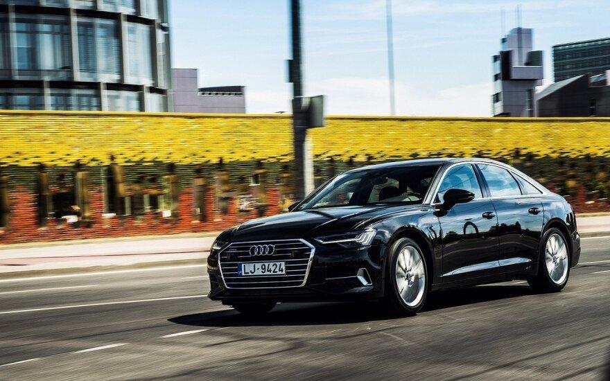 """Atvyko naujasis """"Audi A6"""""""
