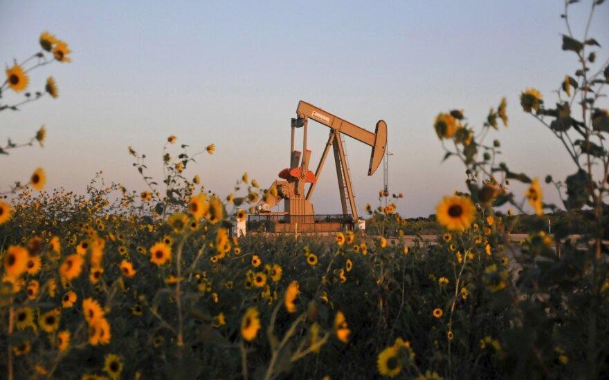 Dėl koronaviruso naftos kainos ir toliau krinta