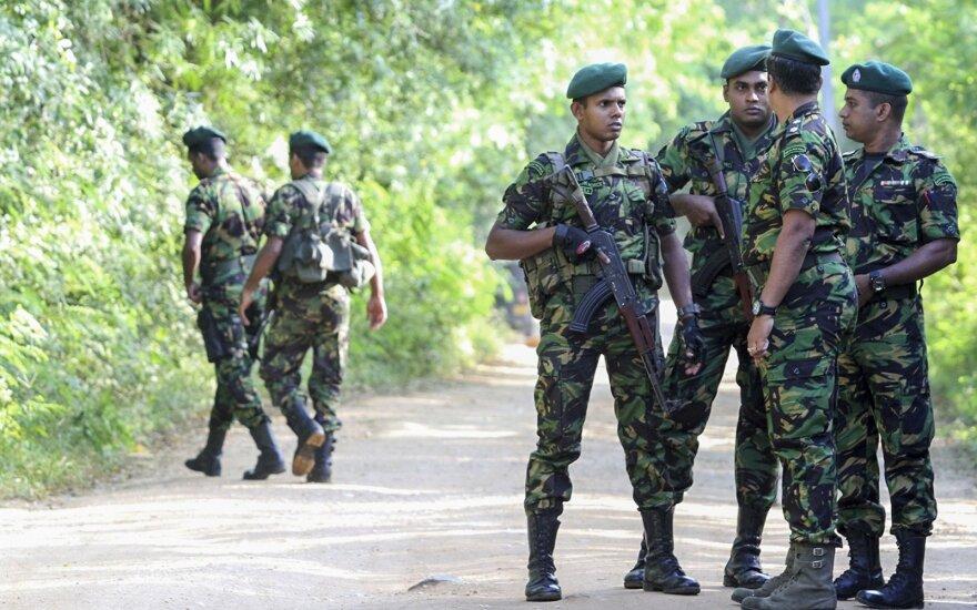 Prezidento rinkimai Šri Lankoje