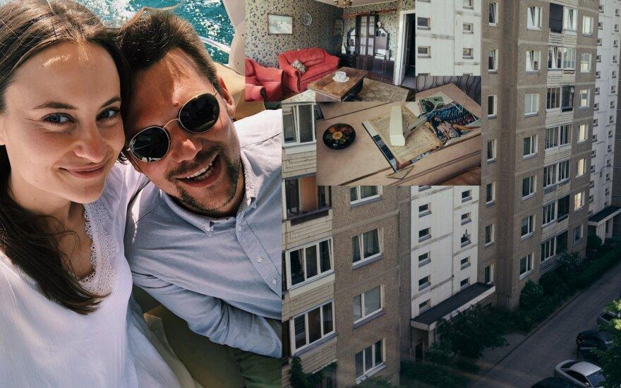 """Serialo """"Černobylis"""" įkvėptą buto interjerą sukūrusi vilniečių pora neatsigina turistų: užsieniečiams tai prilygsta nuotykiui"""