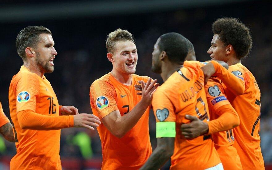 Nyderlandų futbolo rinktinė