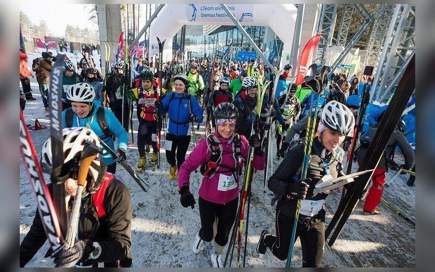 Olimpinio žiemos festivalio akimirka