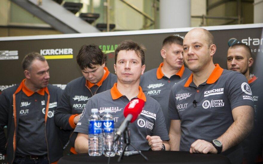 Lenktynėse dalyvaus trys Lietuvos ekipažai