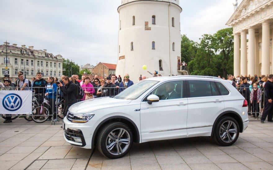 """Naujojo """"Volkswagen Tiguan"""" pristatymas"""
