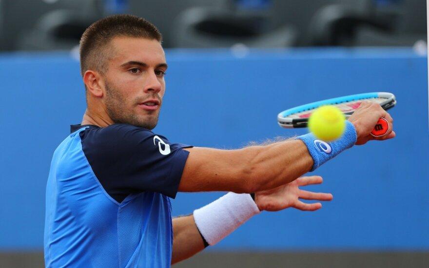 Dvi teniso žvaigždės susirgo COVID-19 – atšauktas finalas, kuriame turėjo žaisti Džokovičius