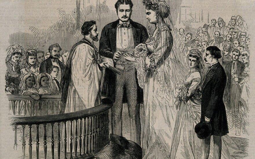 Aukščiausios pasaulio poros vestuvės