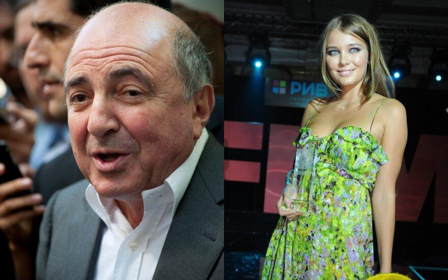 Borisas Berezovskis ir Daria Konovalova / Foto: Vidapress, Scanpix