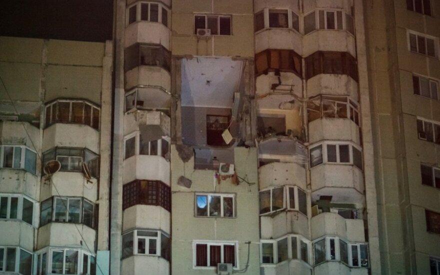 Kišiniovo daugiabutyje nugriaudėjo sprogimas
