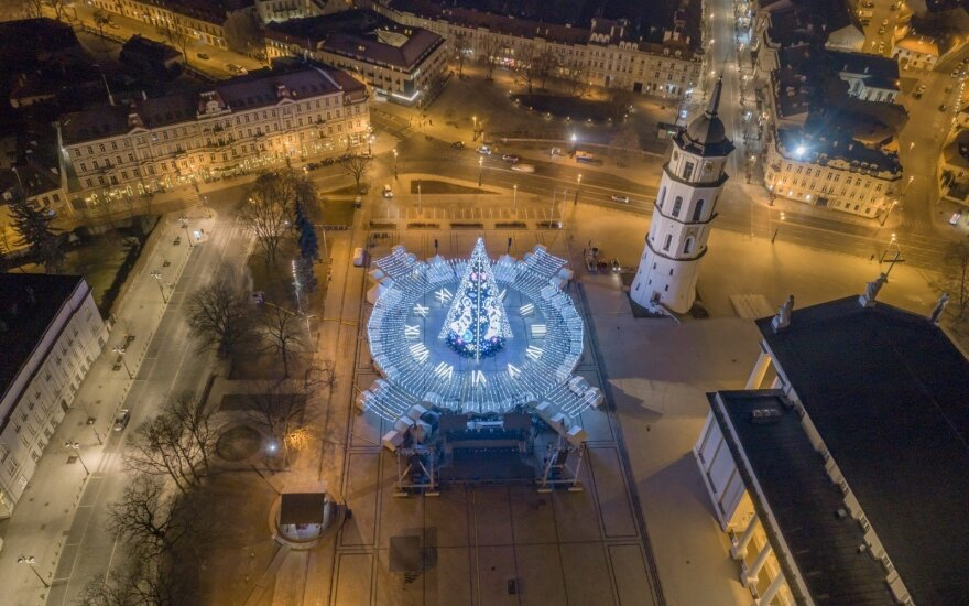 Vilniaus Kalėdų eglė – tarp pretendentų geriausios Europos eglės rinkimuose
