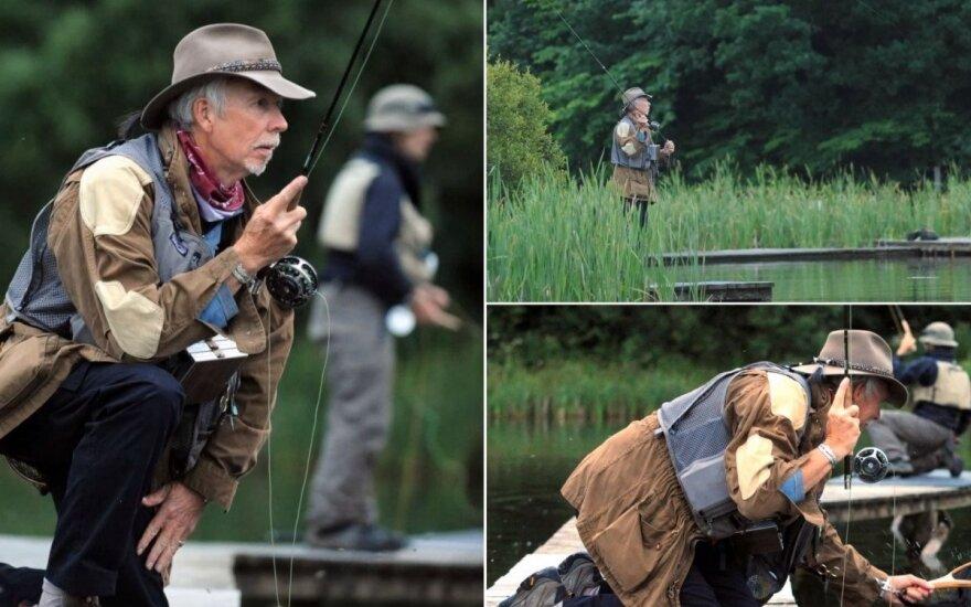 britų žvejys Charles Jardine