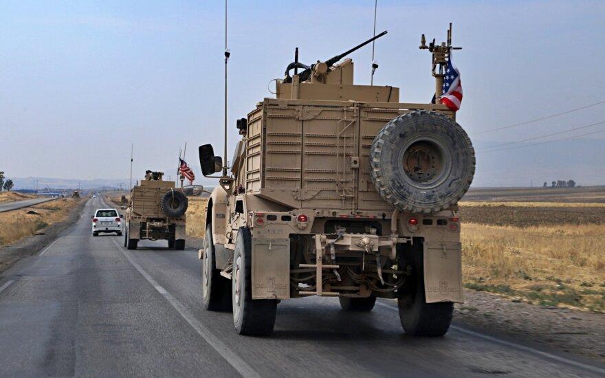 JAV kariai palieka Sirija