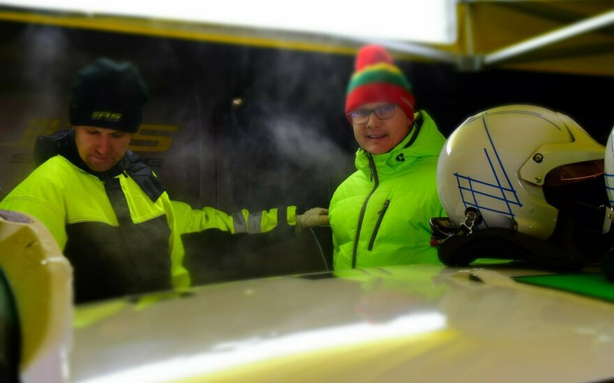 """Halls Winter Rally"" mirė. Tegyvuoja ""Arctic Lapland Rally""!"