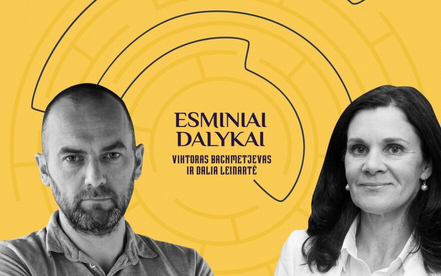 Viktoras Bachmetjevas ir Dalia Leinartė