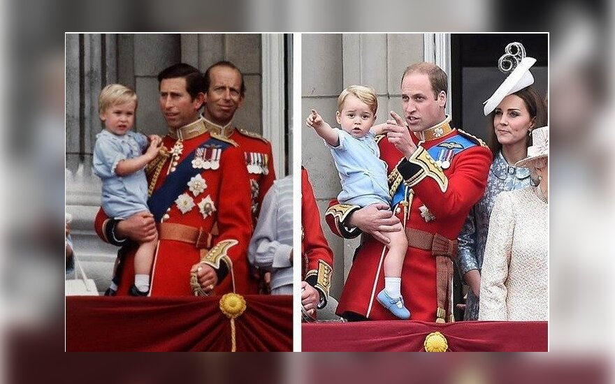 Princas George'as dėvėjo tą pačią aprangą, kaip princas Williamas 1984-aisiais